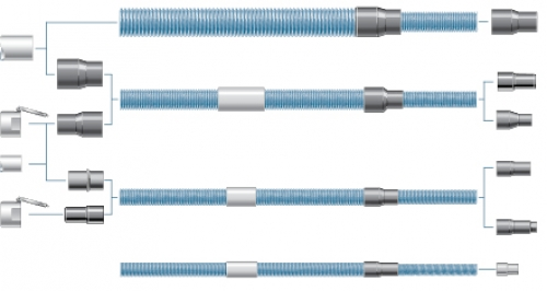 Non-Turnable Hose Connectors